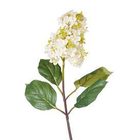 image-Faux Paniculata Flower Stem - White