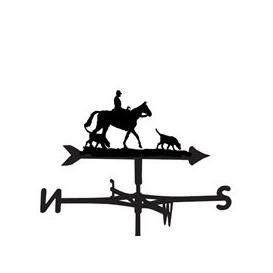 image-Weathervane in Charlie Horse Design - Large (Traditional)