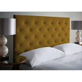 image-Zephyrine Upholstered Headboard Zipcode Design Size: Small Double (4'), Colour: Heather