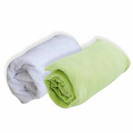 image-Chinook Fitted Cot Sheets Isabelle & Max Colour: Green, Size: W 70 x L 140cm