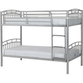 image-Domenica Single Bunk Bed Just Kids Colour (Bed Frame): Silver