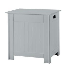 image-Cabinet Laundry Bin Belfry Bathroom Finish: Grey