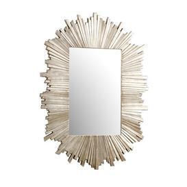 image-Argentia Sunburst Gold Metal Mirror