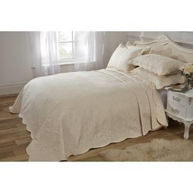image-Borica Bedspread Set Brambly Cottage Colour: Cream, Size: W260 x L260cm