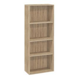 image-Aida Bookcase Mercury Row Size: 145cm H x 81cm W x 36cm D