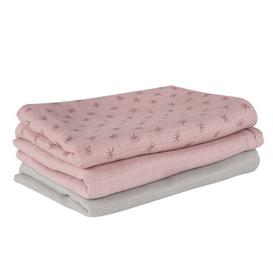 image-Lil Planet Pink 3 Piece Toddler Bedding Set roba Colour: Pink