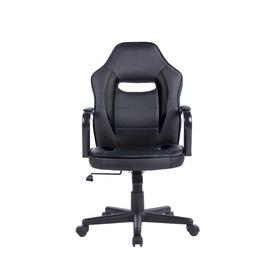 image-Ashbaugh Gaming Chair Ebern Designs Upholstery Colour: Black