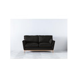 image-Nora Three-Seater Sofa in Obsidian Black