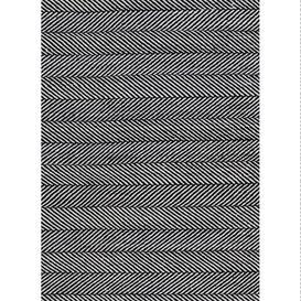 image-Tibba Midnight Rug - 200 x 300 cm / Black / Recycled Plastic Bottles