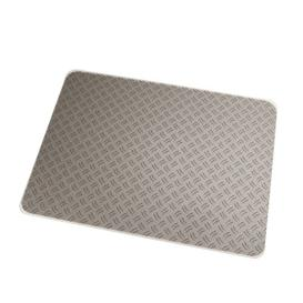 image-Colortex Grey Ripple Design Chair Mat Floortex