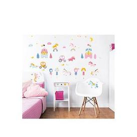 image-Walltastic Unicorn Kingdom Wall Stickers