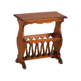 image-Ancient Mariner Mahogany Village Magazine Rack