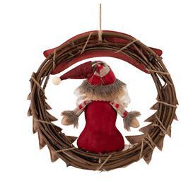 image-Christmas Garland Santa Claus