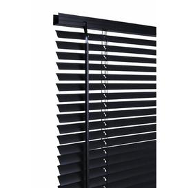 image-Room Darkening Venetian Blind Symple Stuff Finish: Black, Size: 75cm x 160cm