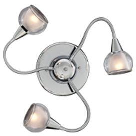 image-Knutsen 3 Light Wall Lamp Ebern Designs Finish: Transparent