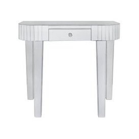 image-Paolo Mirrored Tile Console Table