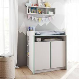 image-Nandini Changing Unit Vladon Colour: Jade green (matt)