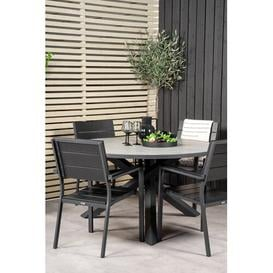 image-Akia 4 Seater Dining Set Sol 72 Outdoor