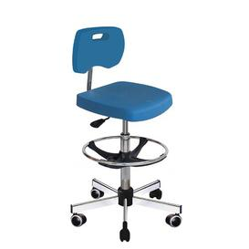 image-Mcmillin Draughtsman Chair Ebern Designs Colour: Blue