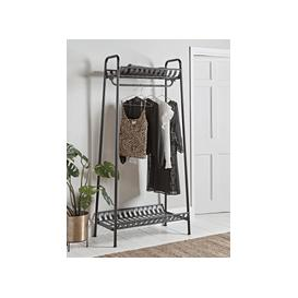 image-Industrial Iron Clothes Rail