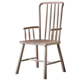 image-Gallery Direct Wycombe Carver Dining Chair (2pk)