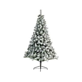 image-Everlands Snowy Imperial Pine Artificial Christmas Tree