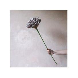 image-Faux Purple and White Pivio Flower
