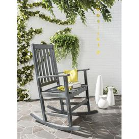 image-Jairo Rocking Chair Sol 72 Outdoor Colour: Ash Grey