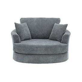 image-Camden Fabric Swivel Chair