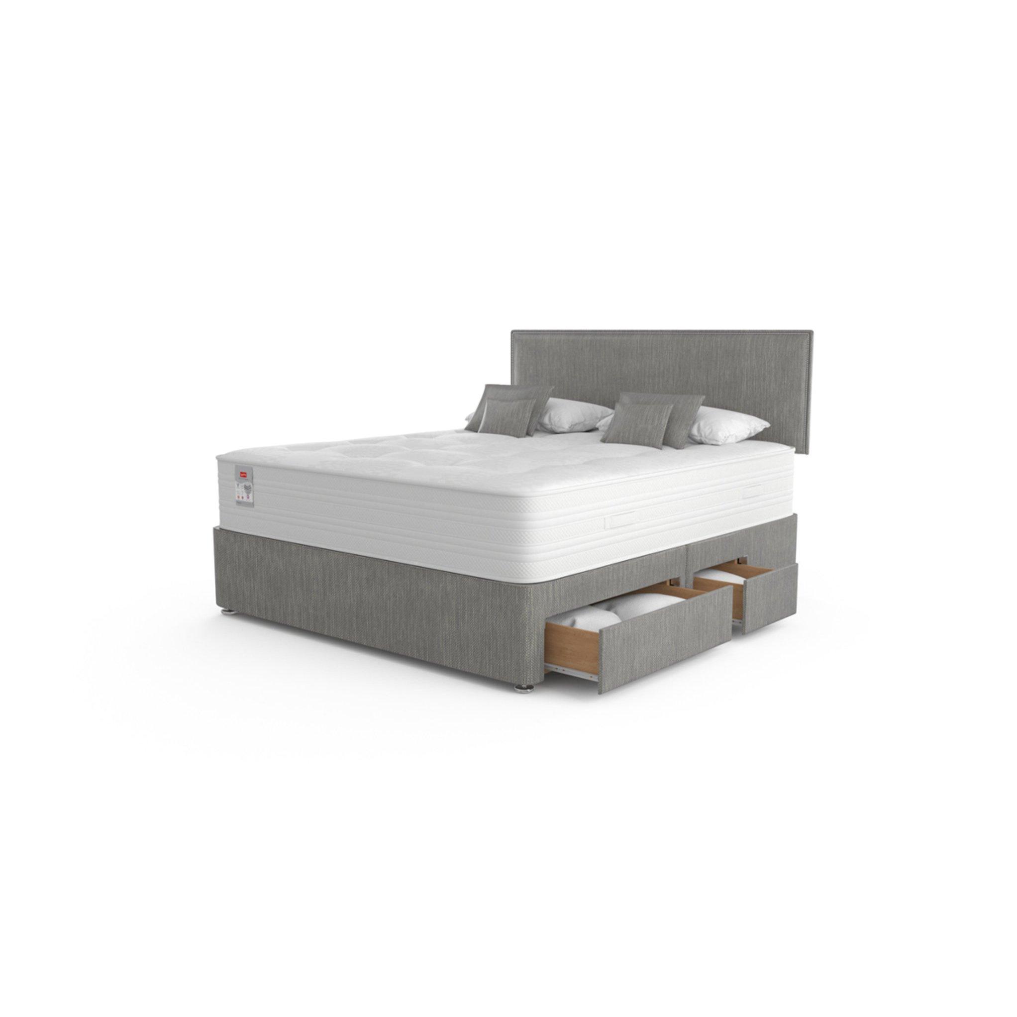 image-Slumberland Plaza Pocket 2200 Pillow Top Divan Bed Set
