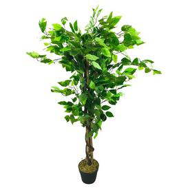 image-Artificial Floor Ficus Tree in Pot Geko Products