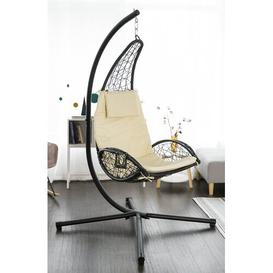 image-Lemuel Hanging Chair with Stand Freeport Park