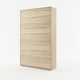 image-Terrones Folding Bed Brayden Studio Size: Small Double (4'), Colour: Oak Sonoma