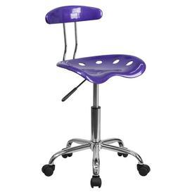 image-Gaitan Ergonomic Task Chair Zipcode Design Colour: Violet
