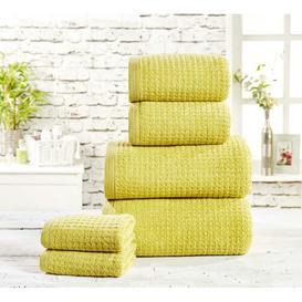 image-6 Piece Towel Bale Hashtag Home Colour: Jive