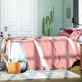 image-Accent Blanket/Throw Symple Stuff Size: W190 x L220cm, Colour: Yellow
