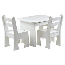 image-Duane Children's 3 Piece Play Table and Chair Set