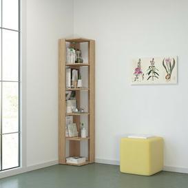 image-Gilyard Corner Bookcase Brayden Studio