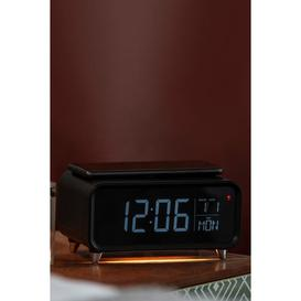 image-Groov-e Athena Alarm Clock with Wireless Charging Pad and Night Light