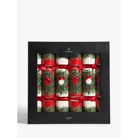 image-John Lewis & Partners Bloomsbury Wreath Christmas Crackers, Pack of 6, Multi