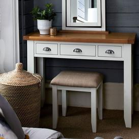 image-Tetbury Painted Oak Dressing Table