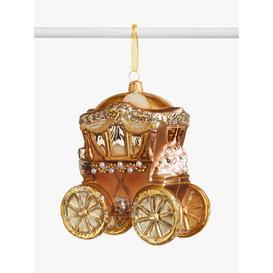image-John Lewis & Partners Renaissance Carriage Bauble, Gold
