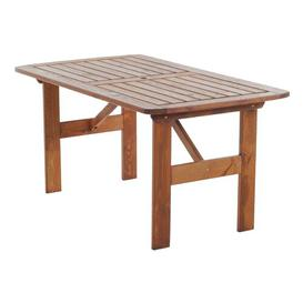image-Youngs Wooden Dining Table Sol 72 Outdoor Colour: Honey