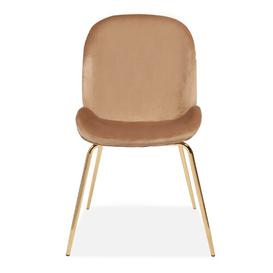 image-Wintershoven Upholstered Dining Chair Fairmont Park Upholstery Colour: Champagne
