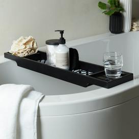 image-Geo Tile Black Bath Rack Black