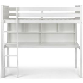 image-Julian Bowen Titan Surf White High Sleeper Bed