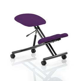 image-Ortegon Height Adjustable Kneeling Chair Brayden Studio Colour: Tabasco Red