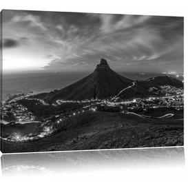 image-Cape Town's Table Mountain Photographic Print on Canvas East Urban Home Size: 40cm H x 60cm W