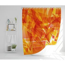 image-Weylyn Polyester Shower Curtain Set Ebern Designs Size: 177cm H x 177cm W