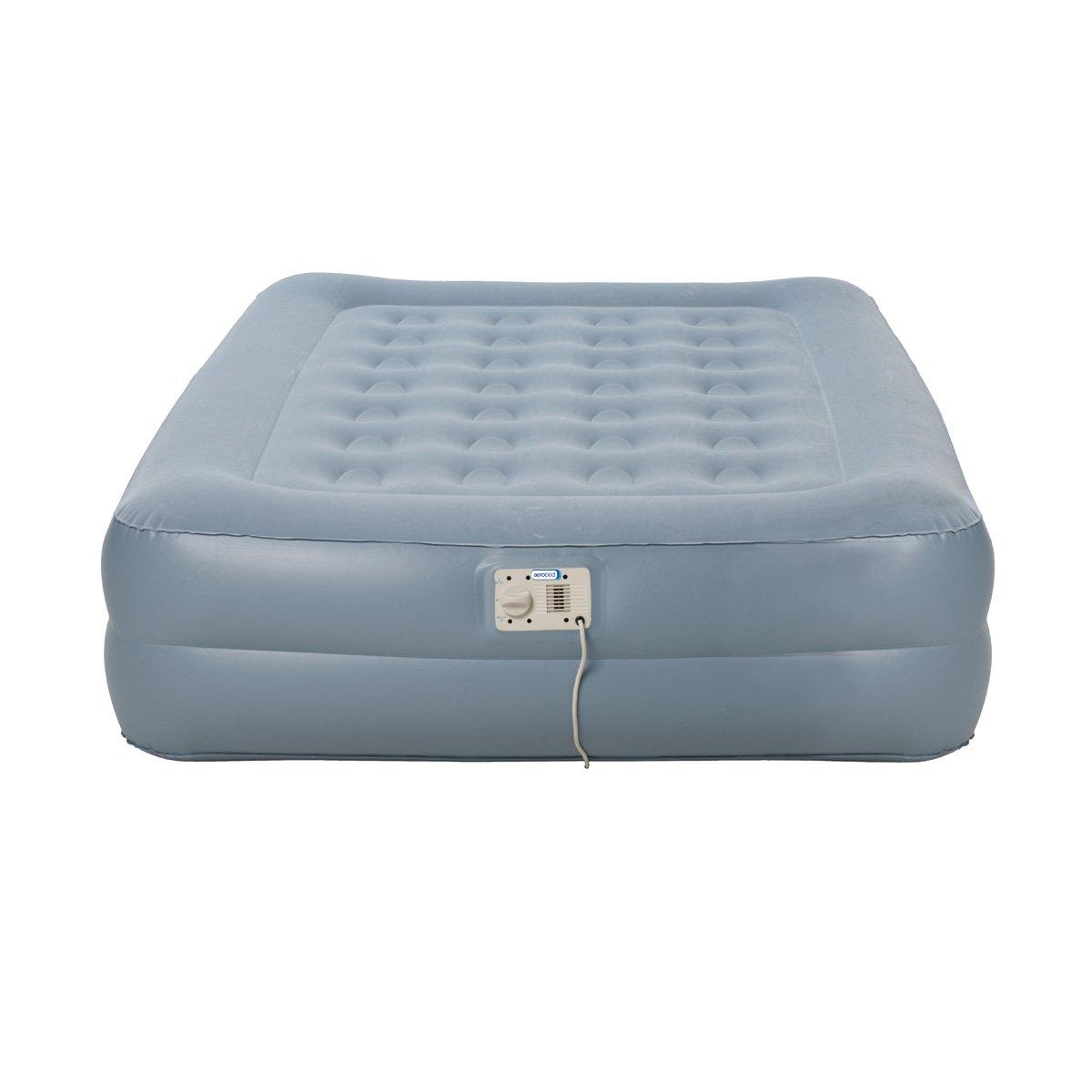 image-Aerobed Sleep Sound Raised Double Inflatable Airbed
